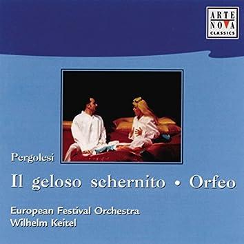Pergolesi: Il Geloso Schernito/Orpheo