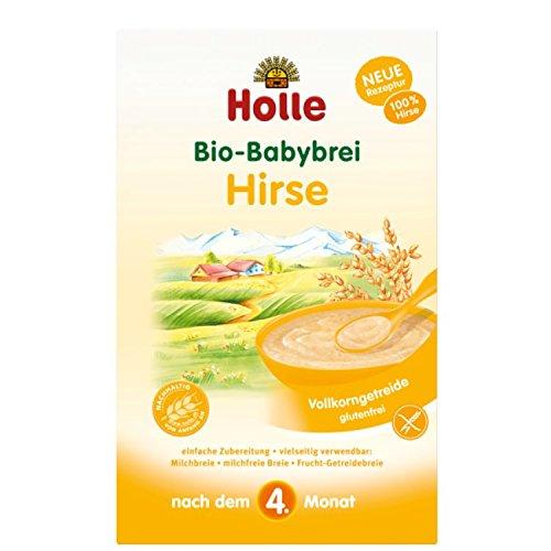 Bio-Babybrei Hirse mit Reis, glutenfrei, Demeter - HOLLE