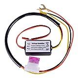 Yangers Controlador de luces de circulación diurna DRL, interruptor de encendido y apagado automático del control del relé led de las luces de circulación diurna para coches, bicicletas y motor