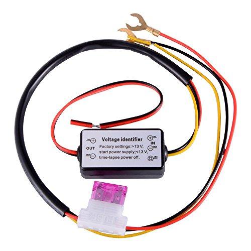Yangers Regler für Tagfahrlicht (DRL), für LED-Tagfahrlicht, Steuerrelais mit automatischem Schalter, mit ein/aus-Schalter, für Auto/Motorrad