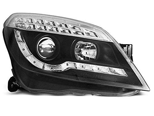 Koplampen Astra H 04-10 Daylight LED zwart (P52)