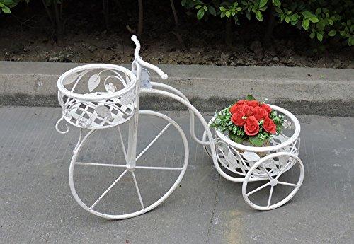 Way Home Store Fahrrad Blumenständer Deko Eisen 65x 26x 46cm