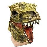 HRTX Máscara de Dinosaurio Fiesta de Navidad, máscara de Dinosaurio Cabeza Animal látex máscara Realista de Cabeza...