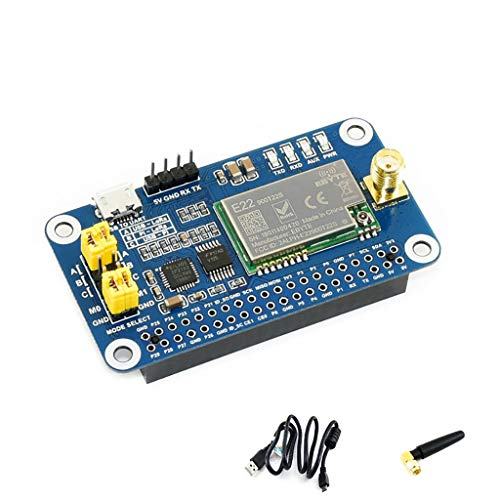 Coolwell Waveshare SX1262 LoRa HAT for Raspberry Pi/Arduino/STM32 Spread Spectrum Modulation up to 81 Available Signal Channel 868MHz Frequency Band Allows Data Transmission up to 5km