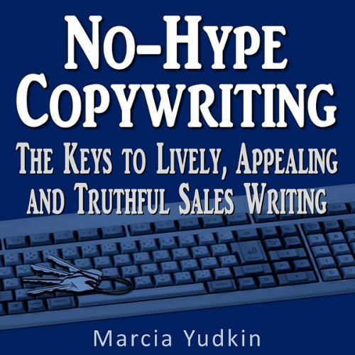 No-Hype Copywriting audiobook cover art