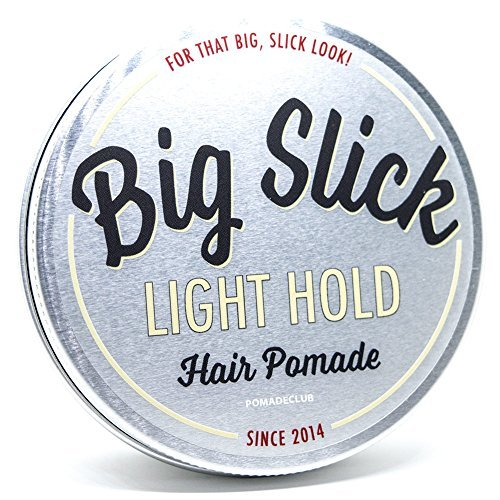 Big Slick Pomade Co Light Hold Pomade 4oz by Big Slick Pomade Co
