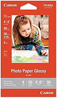 2 X Canon 4 X 6 Inches Photo Paper Glossy, 50 Sheets (8649b001)