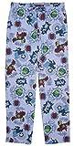 Mad Engine Marvel Superheroes Comic Book Men's Sleep Lounge Pajama Pants, Blue, Small