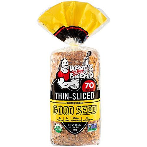 Dave's Killer Bread Good Seed Thin Sliced Organic Bread - 20.5 oz Loaf