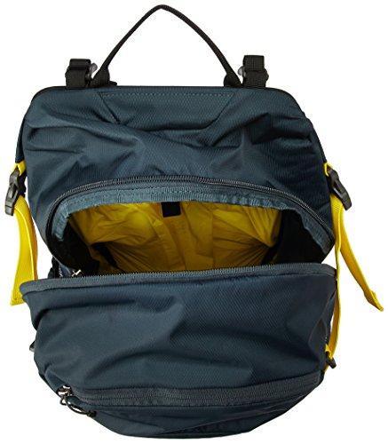 Osprey Hikelite 26 Unisex Hiking Pack - Shiitake Grey (O/S) & Ultralight DrySack 6 - Poppy Orange