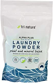 Tri Nature Laundry Powder Alpha Plus Original Soft Pack, 1 kg 1 kilograms