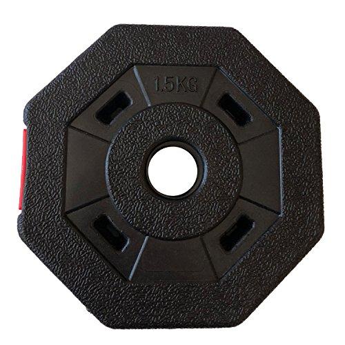Wout ダンベル アレー バーベル フィットネス ダンベル用プレート 1.5kg ×2個 (プレート1.5×2個)