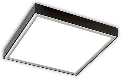 EGLO FUEVA-C lámpara empotrable, 15.6 W, Blanco, 22,5 x 22,5 ...