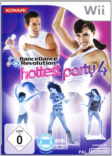 Dance Dance Revolution - Hottest Party 4 [Importación alemana]