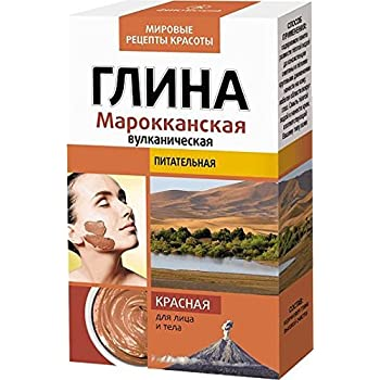 Fito Cosmetic, Natural Clay, World Recipies - Red Moroccan Volcanic Clay