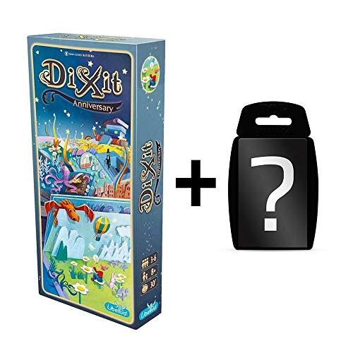 DIXIT - 10th Anniversary - Erweiterung | DEUTSCH | Erweiterung vom Spiel des Jahres 2010 | Set inkl. Kartenspiel