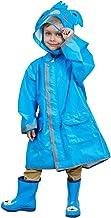 MWJK® Kinder Veiligheid Hooded Regen/Regenjas Poncho met Mouwen – Houd de regen/sneeuw/Water uit je kleding, voor Camping/...