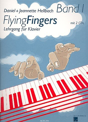 Acanthus Music Flying Fingers Band 1+ 2 CD's - für Klavier