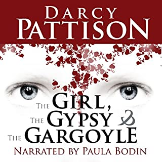 The Girl, the Gypsy, and the Gargoyle audiobook cover art