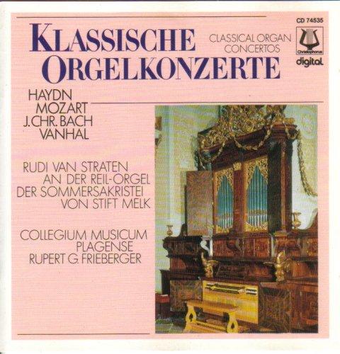 Klassische Orgelkonzerte - Rudi van Straten an der Reil-Orgel der Sommersakristei von Stift Melk