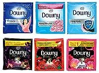 【ヤマト運輸ネコポス便】ダウニー1包 1回使い切りパック6種取混ぜ 12個セット 人気のダウニー柔軟剤 1ダース販売