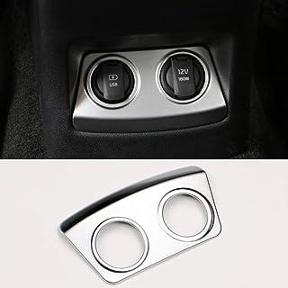 ZHANGDAN Auto Interieur Zubehör Zigarettenanzünder USB AUX Konsole Panel Aufkleber für Kia Sportage 4 2016 2017 2018 2019 2020
