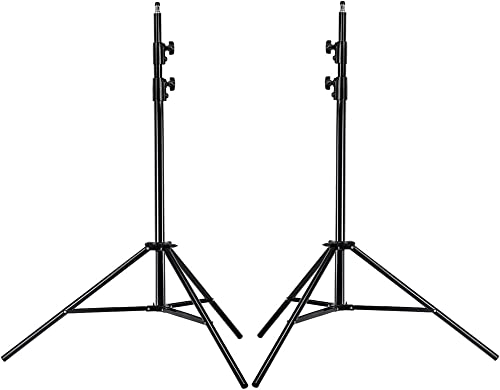 Neewer® PRO 9 Feet / 260cm Heavy Duty Aluminum Alloy Photography Photo Studio Light Stands Kit for Video, Portrait an...