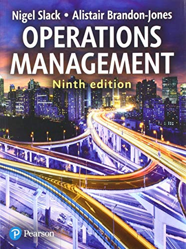 Compare Textbook Prices for Operations Management  with MyOMLab 9 Edition ISBN 9781292254036 by Slack, Prof Nigel,Brandon-Jones, Prof Alistair