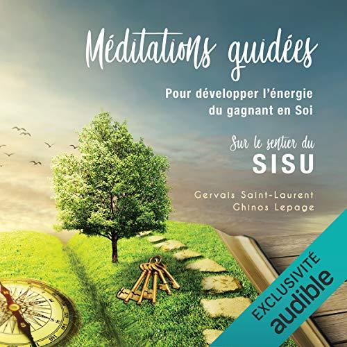 Page de couverture de Méditations guidées pour développer l'énergie du gagnant en Soi