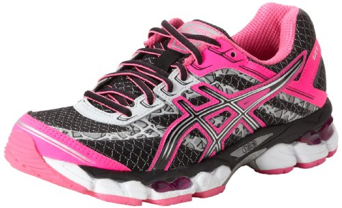 ASICS Women's GEL-Cumulus 15 Lite-Show Running Shoe,Black/Onyx/Flash Pink,5.5 M US