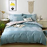 Bed Cover Set Four Piece Bedding Set Cotton&Polyester Brushed Printed Warmth Smooth and Soft Sheet Quilt Cover Pillowcases
