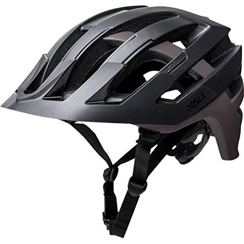 Kali Protectives 0221318217Fahrrad Helm Unisex Erwachsene, schwarz/grau, Größe: L
