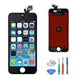 SANKA iPhone 5 LCD Screen Replacement Digitizer Display Retina Touch Screen Glass Frame