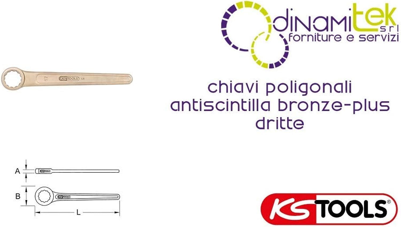 KS Tools 963.7536 BRONZEplus Einringschlüssel gerade 23 mm B00QU7W316 | München Online Shop