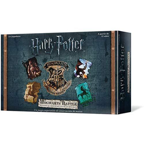 Usaopoly Harry Potter Hogwarts Battle Monstruosa Caja (Asmodee USAHB02ES)