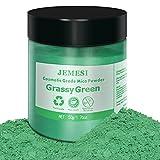 JEMESI 50g pigmentos en polvo de Mica para teñir resina epoxi transparente,colorante...