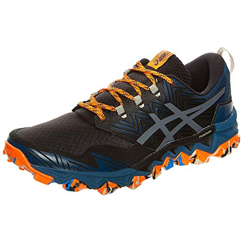 Asics Mens GEL-FujiTrabuco 8 Running Shoe, Directoire Blue/Black, 43.5 EU