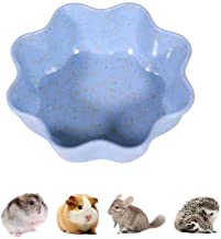 JKGHK Hamster Bowl No Spill Guinea Pig Food Water Dish for Rodent Gerbil Cavy Small Animals