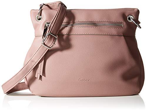 Gabor Umhängetasche Damen Kirsty, Pink (Old Rosé), 28x20x9 cm, Gabor Handtasche Damen