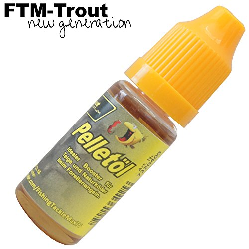 FTM Pelletöl 10ml - Fischlockstoff zum Angeln auf Forellen, Fischlockmittel zum Forellenangeln, Lockstoff, Lockmittel zum Angeln
