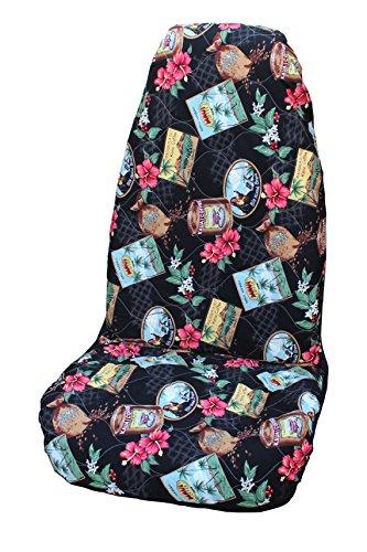 Winnie Fashion Made in Hawaii; Side Airbag Compatibel Kona Koffie Hawaiian Auto Stoelhoezen