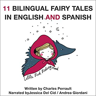 11 Bilingual Fairy Tales in Spanish and English audiobook cover art