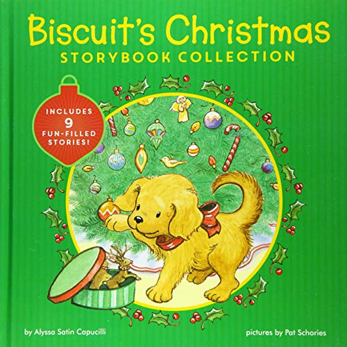 Biscuit's Christmas Storybook Collection: Includes 9 Fun-Filled Stories!