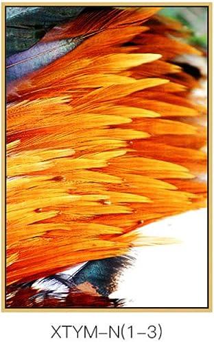 hasta un 60% de descuento DEED Pintura Decorativa Moderna Simple del Modelo de de de la Pluma, Pintura Exquisita del Arte del Estilo, Pintura Decorativa del pórtico del Dormitorio de la Sala  los nuevos estilos calientes