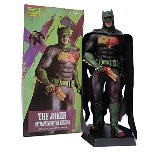 Modello di Statua Animesuicide Squad Joker Action Figure Batman Imposter Ver.Personaggio Joker Toy in PVC 27Cm