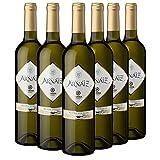 Viña Arnáiz Verdejo - Vino Blanco D.O. Rueda - Caja de 6 Botellas x 750 ml