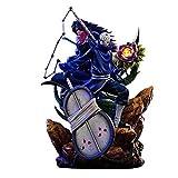 Naruto Action Figure Uchiha Madara Uchiha Obito Animated Character Model Statue Decoration 40cm,A
