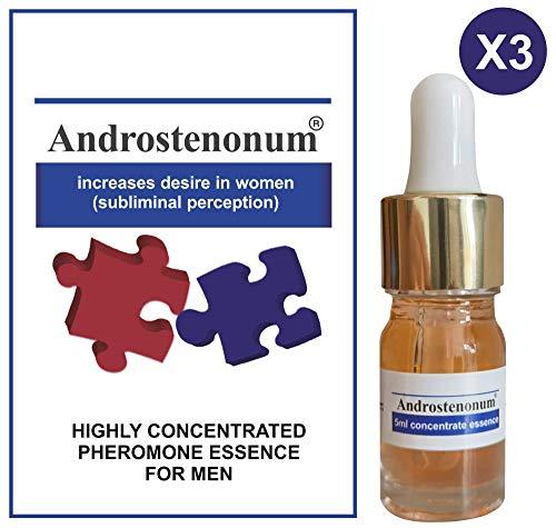 ANDROSTENONUM 5ml + 5ml + 5ml 100% Pheromon für Männer