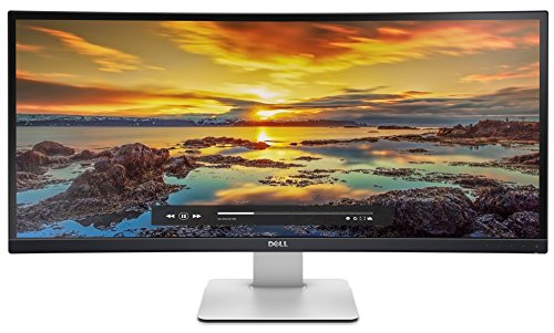 Dell U3415W 86,5 cm (34 Zoll) Monitor (3440 x 1440, LED, HDMI, Display Port, 5ms Reaktionszeit)