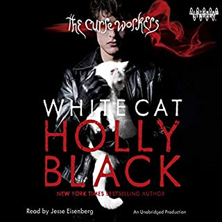 White Cat audiobook cover art